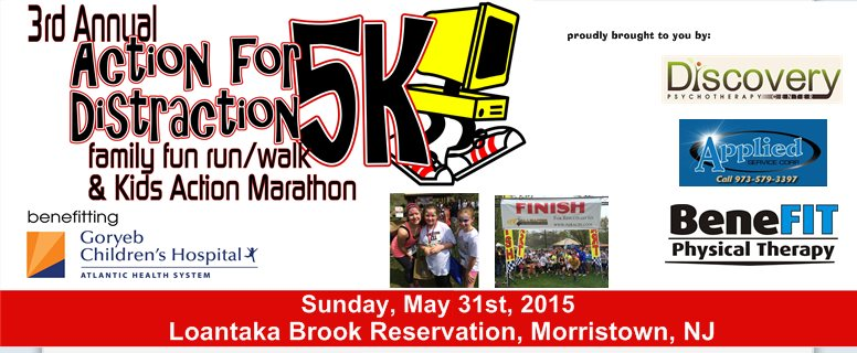 3rd Annual Action for Distraction 5k