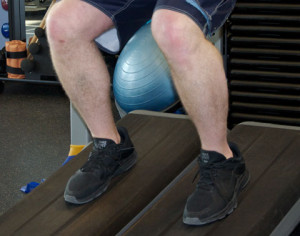 Eccentric Exercises are utilized in Physical Therapy for Tendinitis or tendonosis