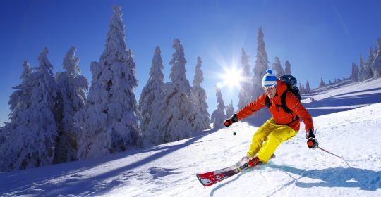 Exercises to Help you Succeed in Skiing