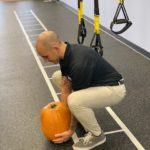 BeneFIT Physical Therapy shows you how to properly pick up a pumpkin